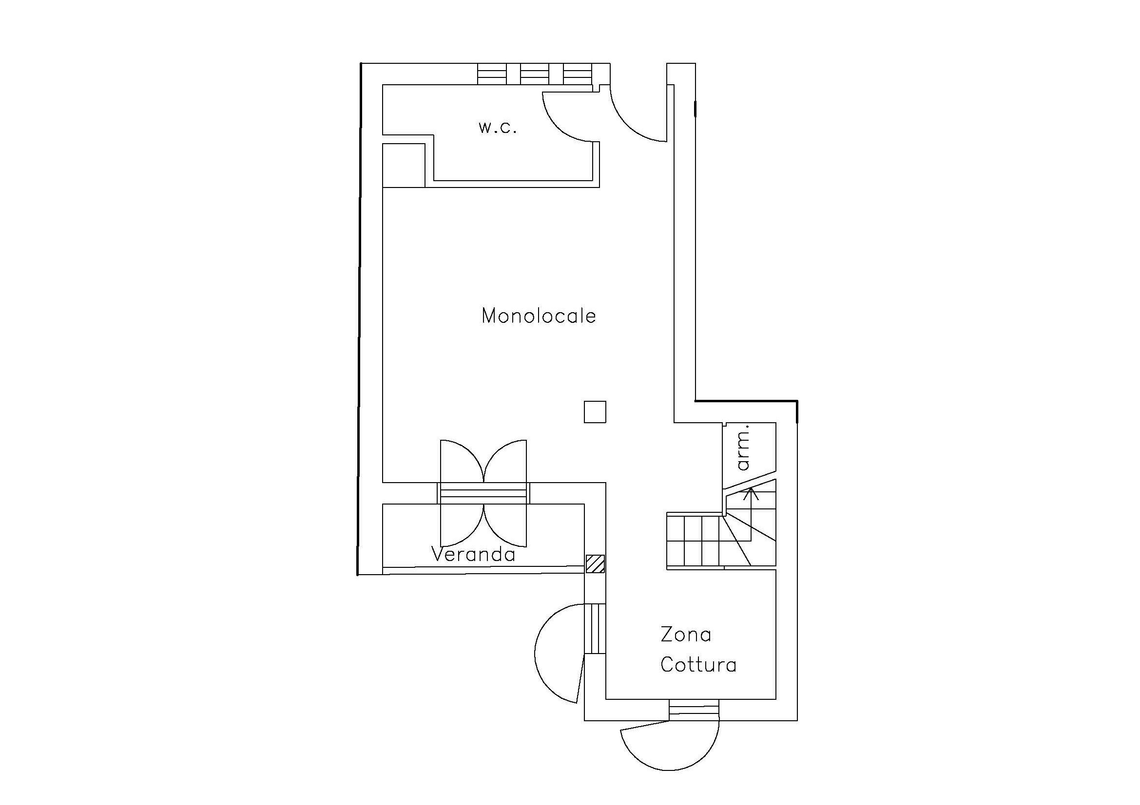 Monovano Primo Piano - Poseidon Residence – San Vito Lo Capo