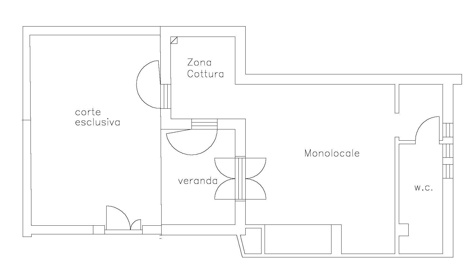 Monovano Piano Terra - Poseidon Residence - San Vito Lo Capo